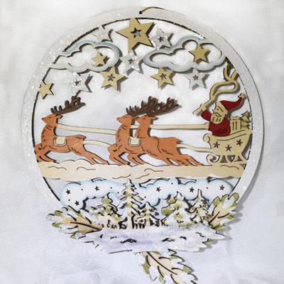 reindeer hanging sm