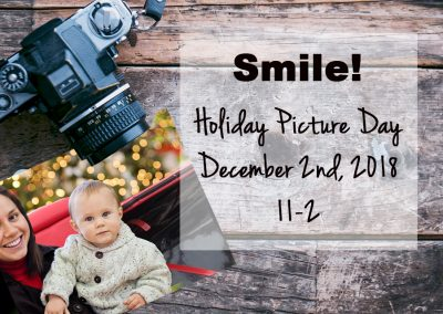 December 2nd, 2018 – Holiday Picture Day