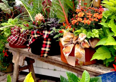 October 13th, 2018 – Fall Outdoor Bushel Basket Arrangement Workshop